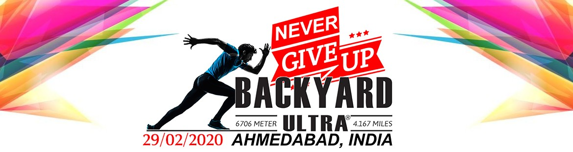 BACKYARD ULTRA AHMEDABAD 2020